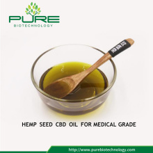 High Purity Hemp Seed CBD Oil for Medical Grade