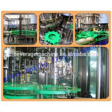 ПЭТ-бутылки или стеклянные бутылки минеральной воды машины Завалки высокого качества