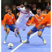 Piso de interlock de PP e PVC para esportes Indoor
