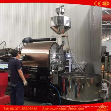Torrador de café comercial do gás da máquina 15kg da repreensão do café 20kg