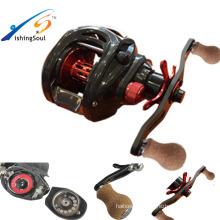 BCR100 full carbon drag handle bass fishing baitcasting bait casting double brake reel