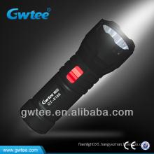 Green led rechargeable flashlight 220v