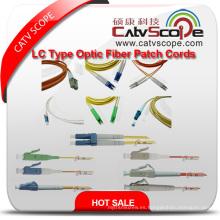 Cordones de remiendo de fibra óptica del tipo LC de alta calidad