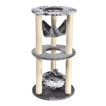 Durable Cat Tree Climbing Tower Tree Cat Scratcher For Cats Interactive Toys Pet Toys