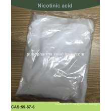 Fournir de l'acide nicotinique de haute qualité (poudre d'acide nicotinique) avec la norme USP