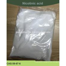 Supply High quality Nicotinic acid (Nicotinic acid powder) with USP standard