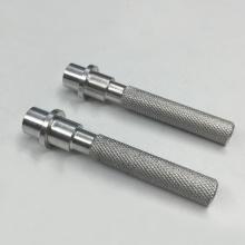 Machining Knurled Aluminum Rod