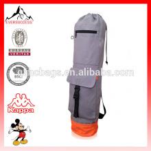 Saco de tapete de ioga com bolso de carga para homens e mulheres Saco de ioga de alta qualidade para tapete