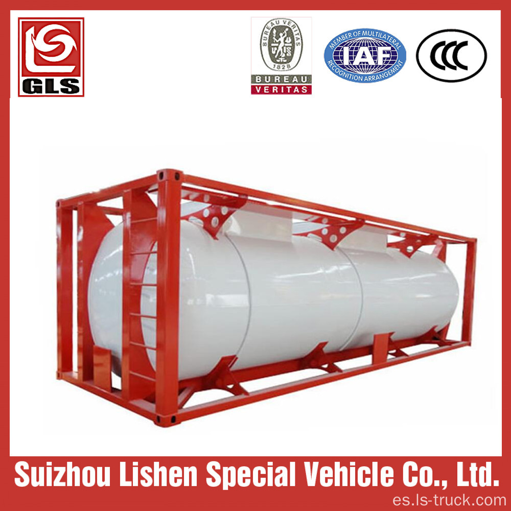 ISO Tank Container 20ft 30ft lpg Storage