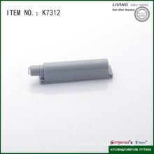 Plastic touch latch for cabinet door