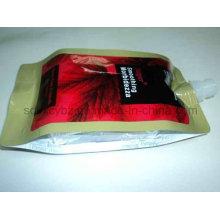 4-seitige Abdichtungs-Plastikverpackungsbeutel mit Ausguss