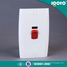 Igoto British Standard E18 Electrical Power Water Heater Wall Switches Manufacturers