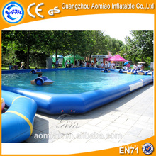 PVC large inflatable pool, floating inflatable boat swimming pool
