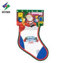 Embalagem de plástico para bolsa de doces para presente de Natal