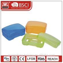 boîte de gros savon, porte-savon en plastique & porte-savon