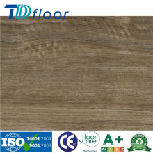 Sistema de suelo de vinilo PVC Sistema de suelo interior de WPC / PVC 5 mm / 6 mm / 7 mm