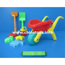 Hot Selling Children Plastic Outdoor Toys Summer Toys Beach Set (989203)