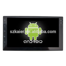 Android 4.4 Mirror-link Glonass / GPS 1080P Dual-core car touch player MP5 para modelos universales con GPS / Bluetooth / TV / 3G