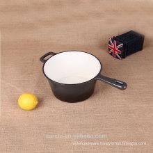 long handle sauce pan balck non-stick pot