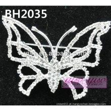 Pino de cristal de borboleta simples