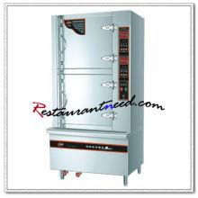 K660 Luxury High Temperature 2 puertas estufa de vapor y estufa de gabinete