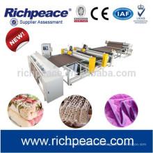 Richpeace máquina de bordar de tela de coser para manta