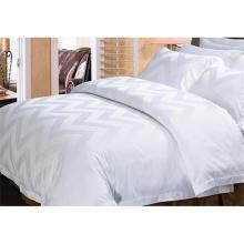 100% хлопок или T / C 50/50 жаккардовый отель / домашний комплект постельных принадлежностей (WS-2016002)