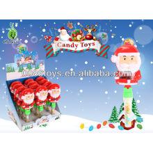 Papai Noel clap candy brinquedos
