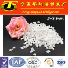 Fused alundum white grain aluminum oxide grit