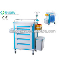 DW-FC001 High quality medical cart with drawers