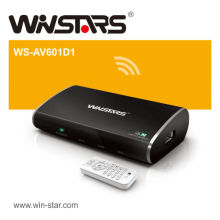 Wireless HDTV Media Player, Wireless HD Airbox, reprodutor de TV inteligente multifunções