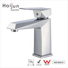 Haijun China Precio cUpc solo agujero de la cubierta montada en el grifo del baño