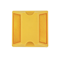 Double Sides reflective plastic road stud