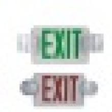 Lumières de sortie d'urgence de qualité supérieure