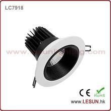 Aprobación CE Empotrable 15W COB LED Downlight / Luz de techo / Foco LC7918