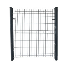 3D Wire Mesh Fence Panel Svetsat Mesh Industrial Fence