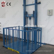 Hot sale approved 1ton indoor cargo vertical lift