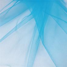 Tissu de maille de polyester américain Tulle pour robe de mariée