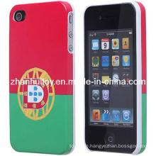 Portugal-Flaggen-Muster-rückseitiger Schutz-harter schützender Abdeckungs-Fall Shell für iPhone