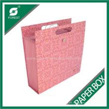 Bolsa de papel de lujo con asa