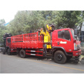 Dongfeng cargo truck mounted crane