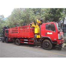 Dongfeng cargo truck mounted crane