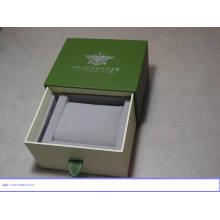 Caja de paquete de madera personalizada con logotipo