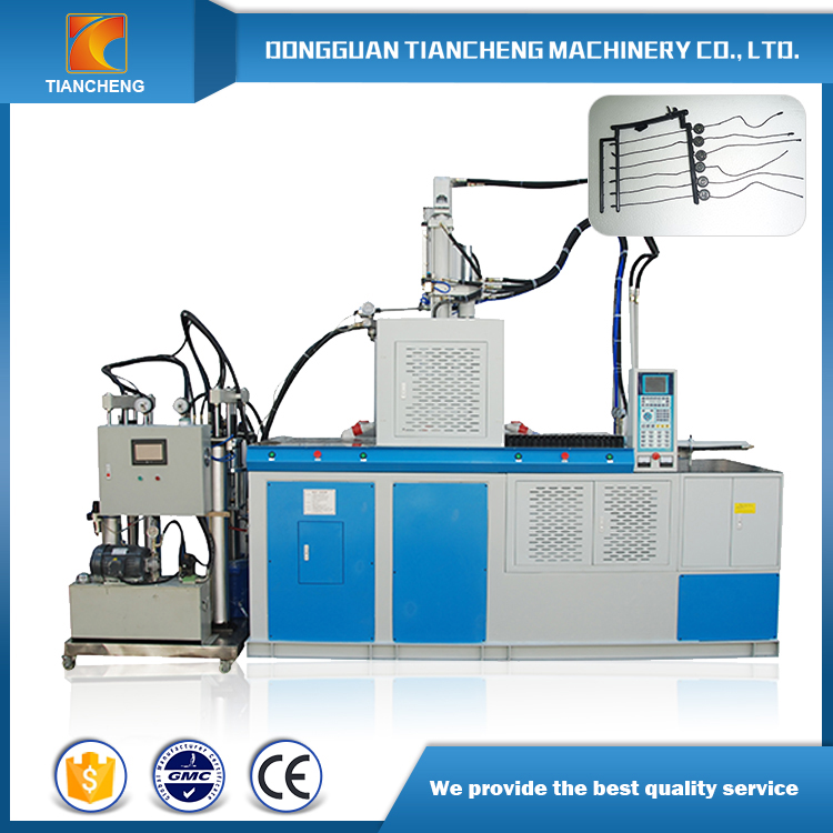 Double Sliding Board Vertical Injection Machinery