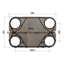 Запасные прокладки для пластинчатого теплообменника Alfalavalp36, P31, Am20b, Clip6