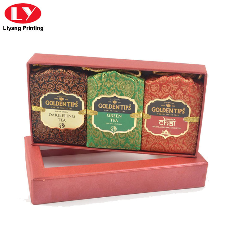 Tea Box Red Color