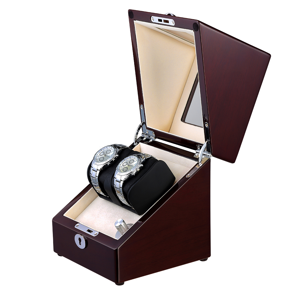 red wood watch winder