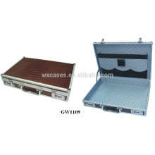 new fashion strong&portable aluminum men briefcase from China factory high quality