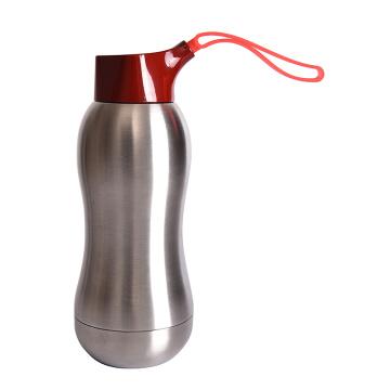 350ml Nova garrafa de água em aço inoxidável isolada a vácuo, garrafa de água personalizada em aço inoxidável