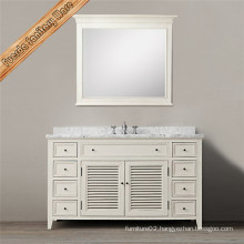 New Fashion Space Saver White Bathroom Cabinet